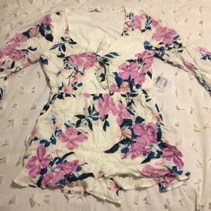 Brand new romper with cute cut out